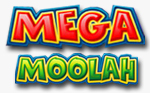 Logo della video slot Mega Moolah